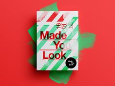 Made You Look  --01-- A self-promotional project aswell as a personal challenge where I aim to design a poster a day throughout 2017.  The subject is totally random and the only rule is that it c...