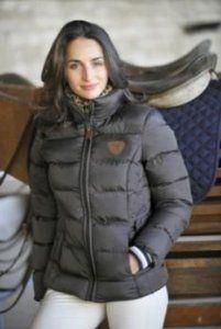 Horseware Leopard Skin Babel Ladies Padded Jacket - Super warm, super fashionable
