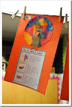 The First Grade Parade: Thanksgiving Threw Up in My Classroom Thanksgiving Writing, Thanksgiving Activities, Holiday Activities, Thanksgiving Ideas, Kindergarten Thanksgiving, Thanksgiving Appetizers, Thanksgiving Outfit, Creative Activities, Kid Activities