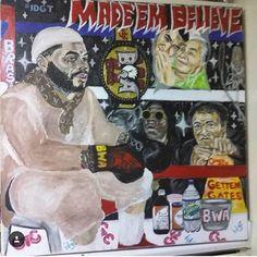 "KEVIN GATES "" Art by: @iam_billionaire_batiste posted by: @breadwinnergreg #BWA #MFH2 #ISLAH "" @kvngates #iamkevingates #KevinGates"