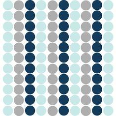Confetti Wall Decals in Blue Confetti Blue - The Project Nursery Shop - 2