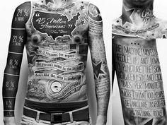 Tattoo Statistics Info-graph !!!