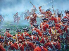 Batalla de Culloden II, cortesía de Peter Dennis. Más en www.elgrancapitan.org/foro
