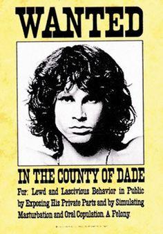51142 The Doors - Wanted Fabric Poster -- PREEGLE.com