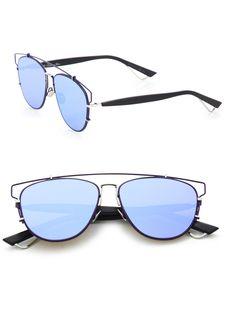 700af7cb5e55d Dior - Blue Technologic 57mm Pantos Sunglasses - Lyst