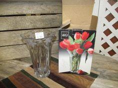 "Vintage Mikasa 8 1/4"" Garden Terrace Vase Japan with label Original Box by EvenTheKitchenSinkOH on Etsy"