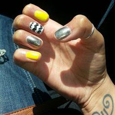Chevron nails!