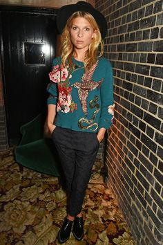 Clémence Poésy en Gucci Chiltern Firehouse Londres | Vogue
