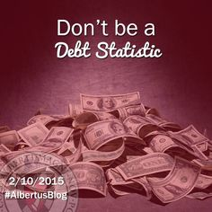 """""""Albertus Magnus College cuts over 1,500 excess funds checks back to students each year. 95% of them are the result of the excess borrowing of student loan funds."""" Read on here: http://blog.albertus.edu/2015/02/06/dont-be-a-debt-statistic/ #AlbertusBlog"""