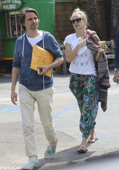 Matt Bellamy and Kate Hudson Matthew Bellamy, Stepping Out, Kate Hudson, Celebs, Celebrities, Fashion, Moda, Fashion Styles, Celebrity
