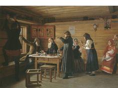 Д.Е.Жуков (1841–1903 гг.), «Спор о вере», 1867 г.