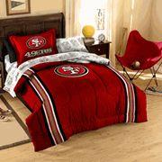 San Francisco 49er's Full Bed in a Bag Comforter Set (With Sheet Set)