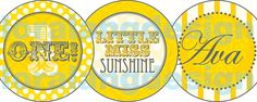 DIY+Printable+Little+Miss+Sunshine+Cupcake+by+loralangdesigns,+$5.00