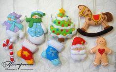 Felt Christmas Crafts
