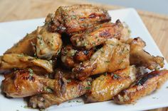 Tangy Baked Chicken Wings Recipe- Crowd Pleaser!   Divas Can Cook