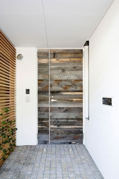 beautiful reclaimed door