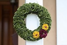 a Fall wreath!!!!