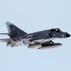 "Dassault ""Super-Etendard"" argentin avec missile ''Exocet''"