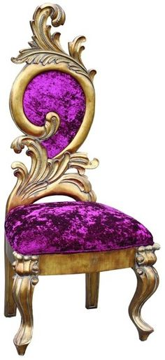 Purple chair posted by www.furnish.co.uk