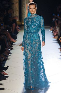 Gorgy lace dress from Elie Saab Fall 2012