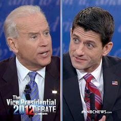 Biden won the VP debate easily. #vpdebate #joebiden #paulryan #lyinryan - @nbcnews