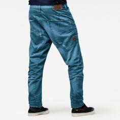 G-Star RAW Jeans Radar Low Loose Wisk Denim Medium Aged Hose Blau