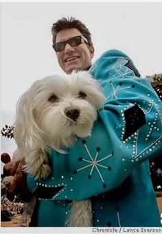 "Chris Isaak with ""Rodney"" Vintage Western Wear, Vintage Cowgirl, Western Style, David Lynch, Sailor Et Lula, Chris Isaak, Big Songs, Beautiful Songs, Well Dressed Men"