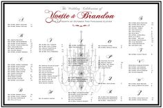 Wedding Seating Template for large wedding  seating chart.  Perfect to display at a wedding.  Everyone likes to know where their friends are seating!