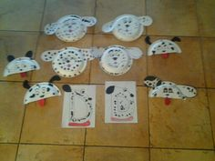Toddler crafts that wull be used as decorations