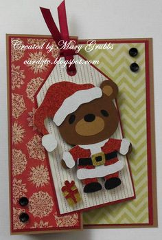 Holly Jolly Bear (using Teddy Bear Parade) - Mary Grubbs