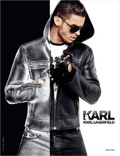 A Dynamic Baptiste Giabiconi Fronts Karls Fall/Winter 2012 Campaign