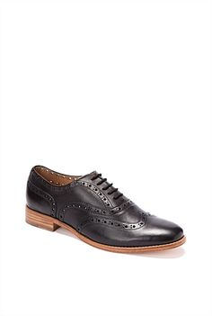 Women's Footwear | Derby Shoes, Boots, Heels, Sandals By Trenery - Perforated Brogue