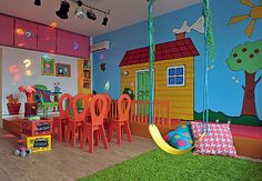 Lots of fun ideas for the playroom!