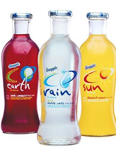 Snapple...I was obsessed with Rain