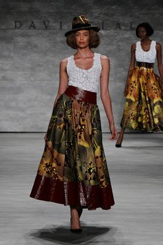 David Tlale SS15 Collection
