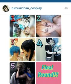 HI GUYS THANK YOU GUYS SO MUCH COR VOTING FOR ME BECUZ I MADE IT TO THE FINAL ROUND LOL CAN U GUYS PLEEEEEEASE DO IT AGAIN BUT VOTE FOR NUMBER 3 THIS TIME GO TO @rurounichan_cosplay AND VOTE FOR 3 THANK YOU SO MUCH  #cosplay #cosplays #cosplayer #anime #animecosplay #manga #mangacosplay #yaoi #hardyaoi #hardcoreyaoi #contest #softyaoi #yaoicosplay #yaoicosplayer #otaku #otakugirl #crossplay #crossplayer #dmmd #aobooty #aoba #aobaseragaki #DRAMAticalMurder #dramaticalmurderyaoi #koujaku