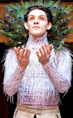 52 Famous Actors Who Took On Shakespeare | 19. Colin Morgan as Ariel, The Tempest - I admit I knew/saw a lot of these but I was still amazed at the number I didn't know!