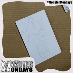 The first official monster Monday's! Woohoo! Some work in progress shots the insight will come this evening and I hope you find it helpful to manage your own monsters! #MonsterMondays #Monster #wip #Mentalhealth #Illustration #instaart #Instaartist #drawing #mondaymonsters check out the video http://bit.ly/1GQoows