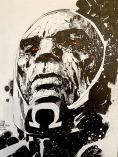 DarkSeid by master Jim Lee Comic Book Artists, Comic Artist, Comic Books Art, Dc Comics Art, Fun Comics, Darkseid Dc, Art Du Croquis, Rasengan Vs Chidori, Jim Lee Art
