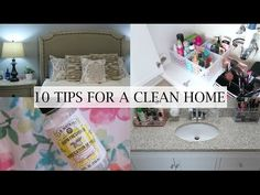 CLEAN WITH ME | MY DAILY CLEANING ROUTINE Plus CLEANING TIPS - YouTube