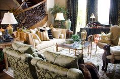 LIVING ROOMS  LUXURY LIVING ROOM DESIGNS