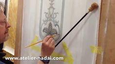 Trompe-l'oeil Part 2 - Moulures et ornements de style peints en trompe-l...
