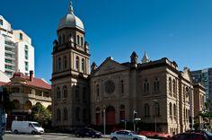 Baptist Tabernacle, Wickham Tce (Your Brisbane: Past and Present) architect Richard Gailey