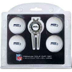 Team Golf Seattle Premium Golf Gift Set