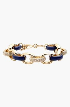 'Yacht Club' Chain Link Toggle Bracelet