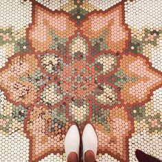 Cool Tile Pattern Design Ideas For Bathroom 33