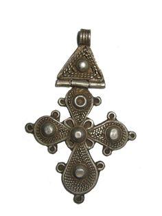 Beautiful Hinged Ethiopian Coptic Cross Pendant Ethiopia | eBay