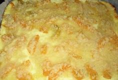 Obrázek z Recept - Tvarohovo broskvový koláč vynikající