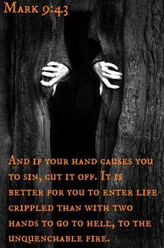 Mark 9:43