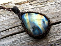 Labradorite Necklace, Labradorite pendant,  Crystal necklace, Rainbow, boho hippie, scorpio birthstone, burningman necklace / gypsy